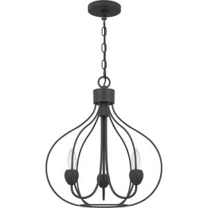 Walsh - 3 Light Pendant in Transitional style - 16.5 Inches wide by 19.5 Inches high