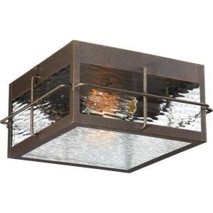 Ward - 2 Light Outdoor Flush Mount - 5.75 Inches high