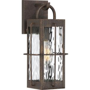 Ward 14.25 Inch Outdoor Wall Lantern Transitional Steel