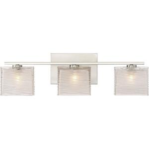 Westcap 3 Light Transitional Bath Vanity - 6.75 Inches high