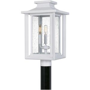 Wakefield - 3 Light Outdoor Post Lantern in Transitional style - 10.75 Inches wide by 19.25 Inches high