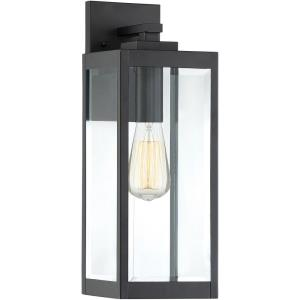 Westover 17 Inch Outdoor Wall Lantern Transitional Steel Approved for Wet Locations