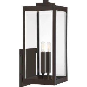 Westover 2-Light Extra Large Outdoor Wall Lantern in Transitional Style 22.75 Inches Tall and 9 Inches Wide