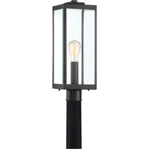 Westover - 1 Light Outdoor Post Lantern - 20.5 Inches high