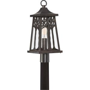 Wildwood - 1 Light Outdoor Post Lantern - 22 Inches high
