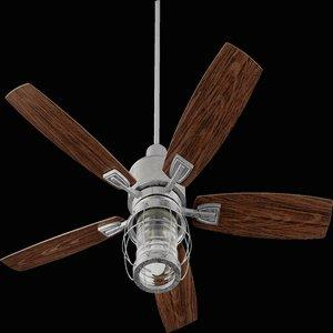 "Galveston - 52"" Patio Ceiling Fan With Light Kit"