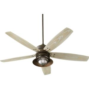 Portico - 60 Inch Patio Ceiling Fan with Light Kit