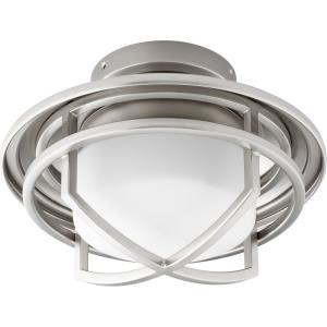 """Windmill - 11"""" 18W 1 LED Cage Ceiling Fan Light Kit"""