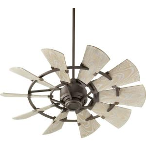 Windmill - Patio Fan in Transitional style - 44 inches wide by 16.46 inches high