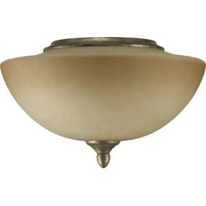 Salon - 2 Light Mushroom Light Kit in Transitional style - 11.75 inches wide by 7.75 inches high