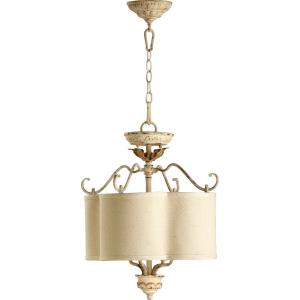Salento - 4 Light Dual Mount Pendant in Transitional style - 18 inches wide by 21.5 inches high