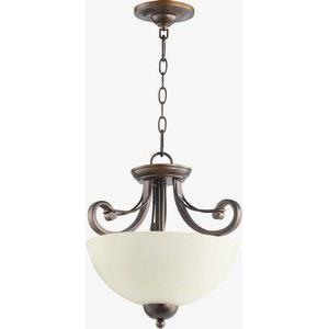 Lariat - Two Light Adjustable Flush Mount