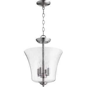 Four Light Vessel Dual Mount Pendant