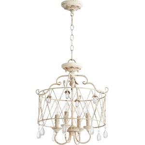 Venice - Four Light Dual Mount Pendant