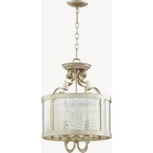 Champlain - 4 Light Dual Mount Pendant in Transitional style - 16 inches wide by 22 inches high