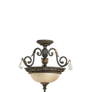 Rio Salado - Two Light Dual Mount Pendant