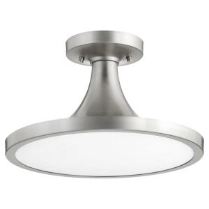 Bugle - 1 Light Flush Mount in style - 15 inches wide by 9 inches high