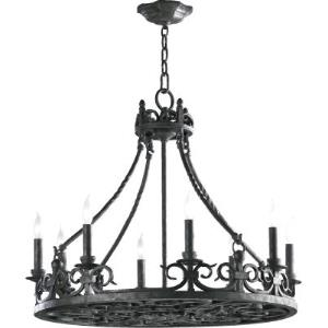 Lorenco - Eight Light Chandelier