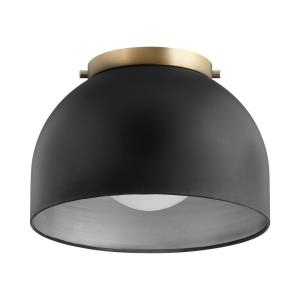 Dome - One Light Flush Mount
