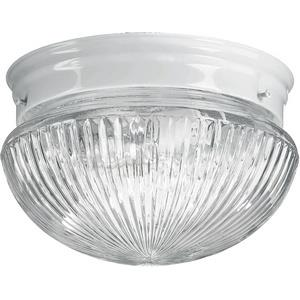 7.5 Inch One Light Flush Mount