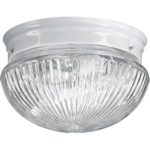 1 Light Mushroom Flush Mount in style - 7.5 inches wide by 5 inches high