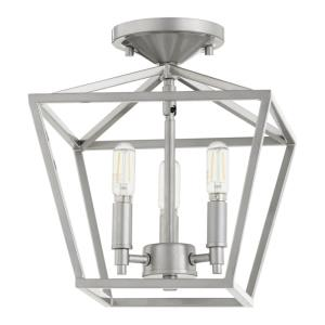 Gabriel - 3 Light Semi-Flush Mount