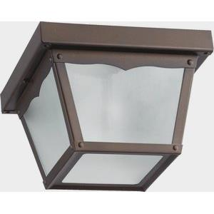 One Light Outdoor Cage Wall Mount