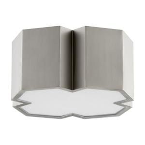 XT - 2 Light Flush Mount in style - 13.5 inches wide by 6 inches high