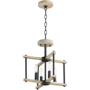Silva - 4 Light Convertible Pendant in style - 14 inches wide by 13.5 inches high