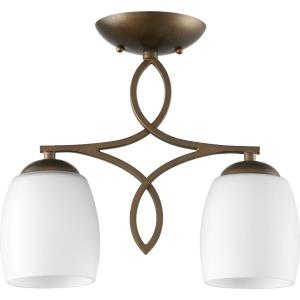 Willingham - Two Light Semi-Flush Mount