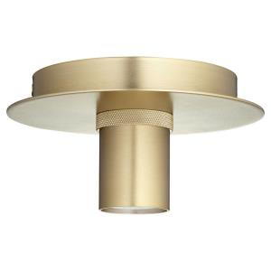 Modern Keyless - 1 Light Flush Mount in matches any style - 5.88 inches wide by 3 inches high