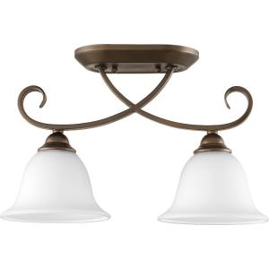 Celesta - Two Light Semi-Flush Mount