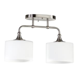 Rockwood - Two Light Semi-Flush Mount