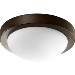 Contempo - 11 Inch Two Light Flush Mount