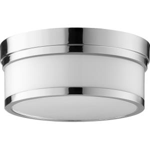 Celeste - 2 Light Flush Mount in style - 12 inches wide by 5 inches high