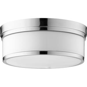 Celeste - 3 Light Flush Mount in Transitional style - 14 inches wide by 5.5 inches high