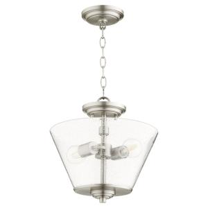 Dunbar - 2 Light Convertible Pendant in Soft Contemporary style - 13 inches wide by 12.75 inches high