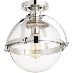 Meridian - One Light Flush Mount