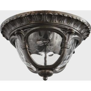 Riviera - Two Light Outdoor Flush Mount