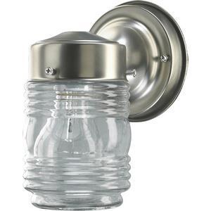 Jelly Jar - One Light Wall Mount