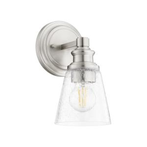Dunbar - 1 Light Wall Mount in Soft Contemporary style - 5 inches wide by 10 inches high