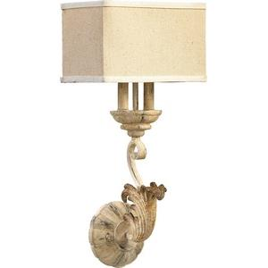 Florence - 2 Light Wall Mount in Transitional style - 10.5 inches wide by 22.75 inches high