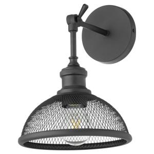 Omni - 1 Light Small Industrial Wall Mount in Transitional style - 8.5 inches wide by 11.5 inches high