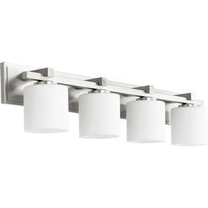 Four Light Cylindrical Bath Bar
