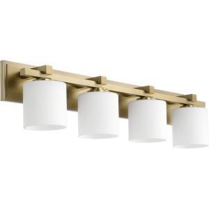 4 Light Cylinder Bath Vanity