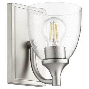 Enclave - 1 Light Wall Mount in Quorum Home Collection style - 5.5 inches wide by 8 inches high