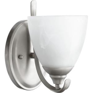 Powell - 1 Light Wall Bracket in Quorum Home Collection style - 5.5 inches wide by 8.5 inches high