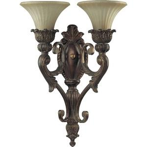 Madeleine - 2 Light Wall Bracket in Traditional style - 15.75 inches wide by 21.5 inches high
