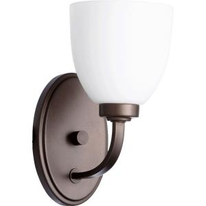 Reyes - 1 Light Wall Mount in Quorum Home Collection style - 5.25 inches wide by 10.25 inches high