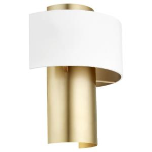 Half Cylinder - 1 Light Wall Sconce